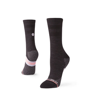 Stance Cycling Socks Bike Solid Wool Crew Black