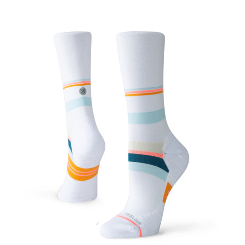 Stance Socks Run Exchange Crew W White