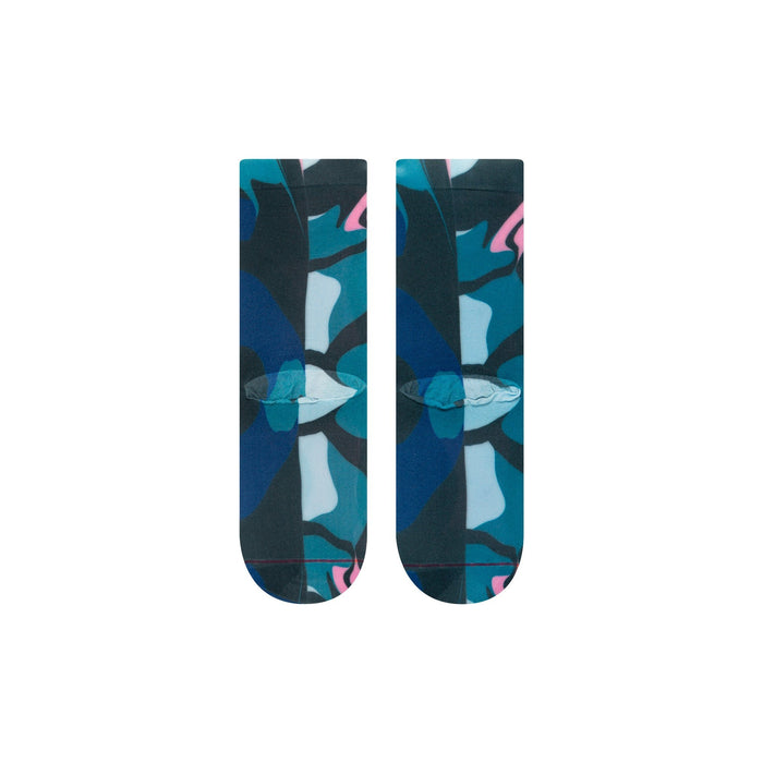 Stance Socks Send Colour Therapy Blue