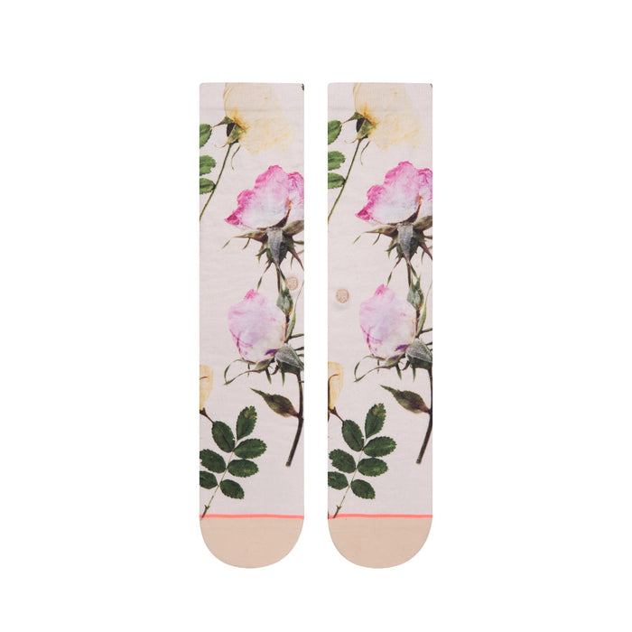 Stance Socks Pressed Not Stressed White