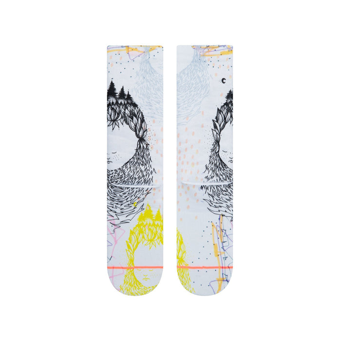 Stance Socks Whimsical White