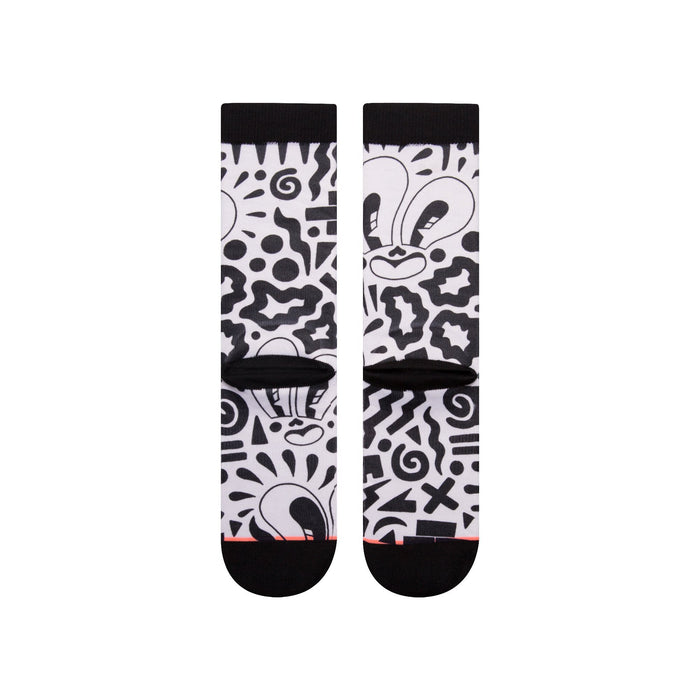 Stance Socks Looky Lou White