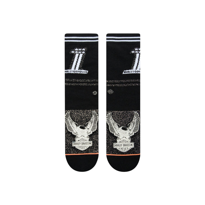 Stance Harley Davidson Socks Number One Harley Black