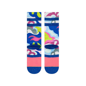 Stance Socks Real Trippy Crew Blue