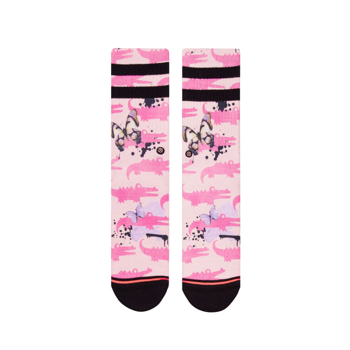 Stance Socks Alligator Pie Pink
