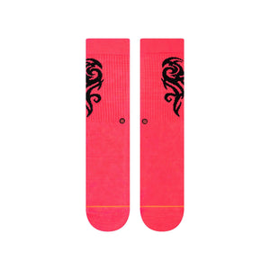Stance Socks Flows Crew Pink