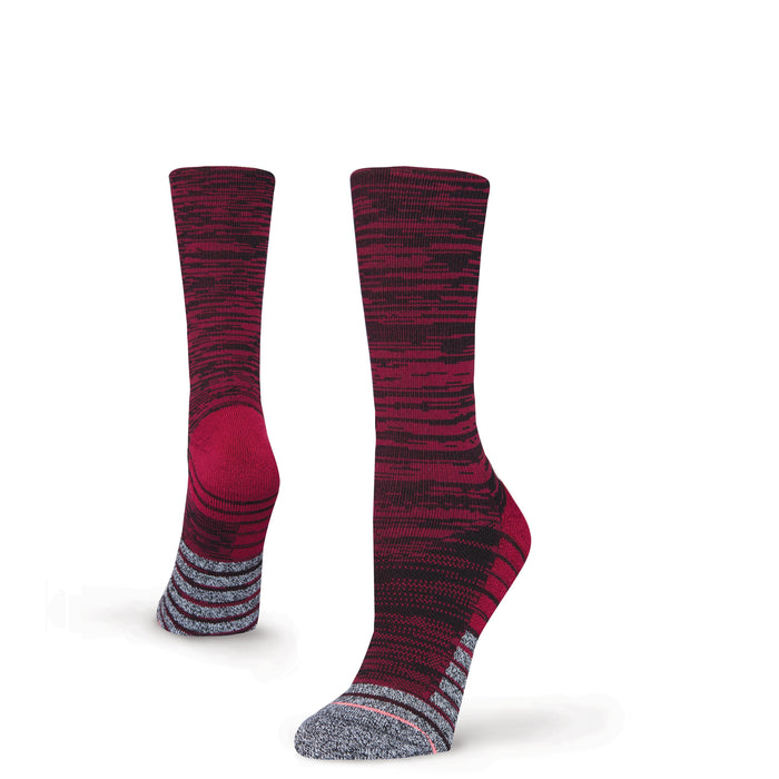 Stance Socks Circuit Crew Red