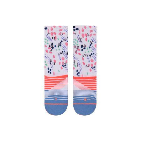 STANCE SOCKS CHIPPER CREW SOCK IN Pink