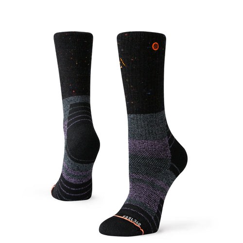 Stance Walking Socks Amethyst Hike Black