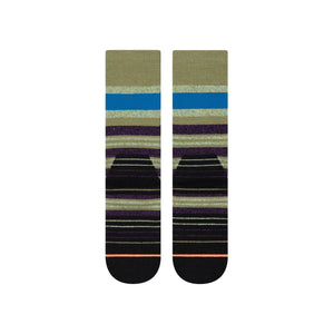 Stance Socks Butterlfy Effect Hike Army green