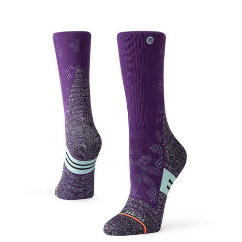 Stance Socks Adventure Floweret Trek Purple