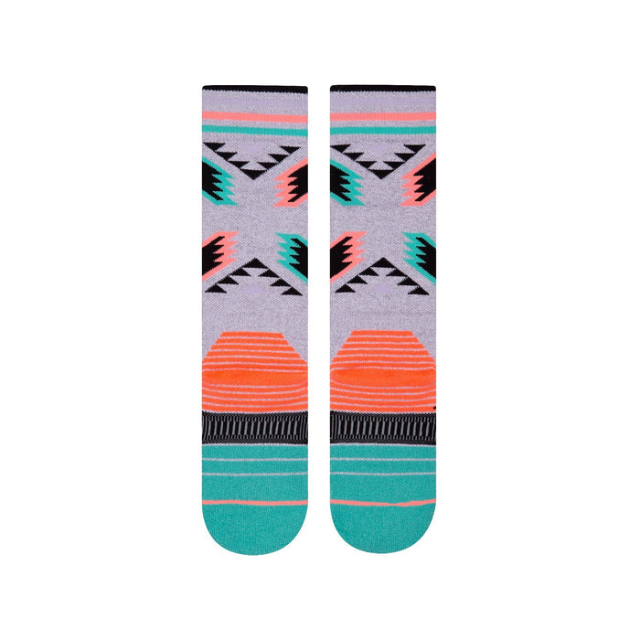 Stance Socks Womens Snow Grey Chick-a-dee