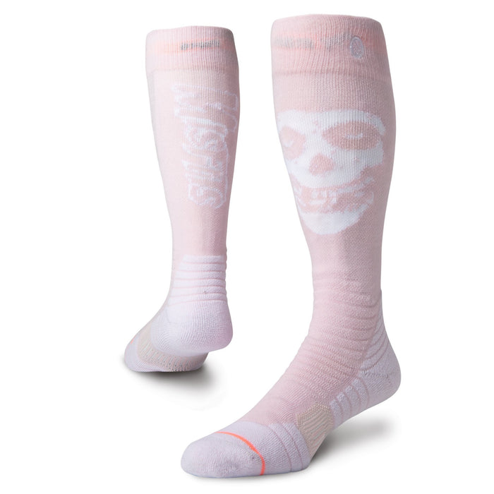 Stance Misfits Socks Snow Womens Pink