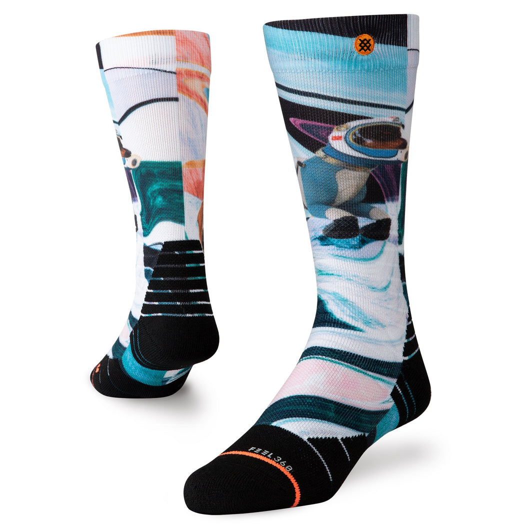 Stance Socks Snow Astrodog White