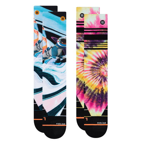 Stance Socks Snow Womens Moutain 2 Pack Multi