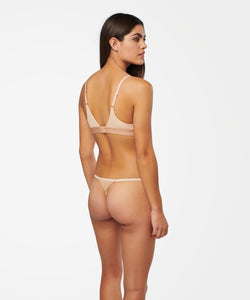Stance Intimates String Thong Nylon Natural