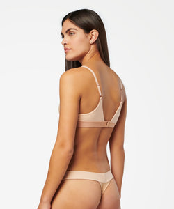 Stance Intimates Twisted Triangle Nylon Natural