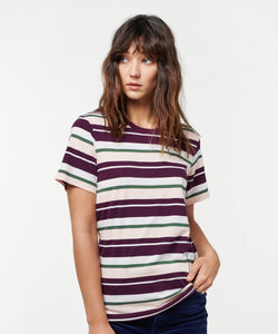 Stance T-shirts Max Berry stripe