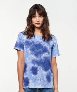 Stance T-Shirts SHELTER POCKET T-SHIRT WOMENS Blue dye
