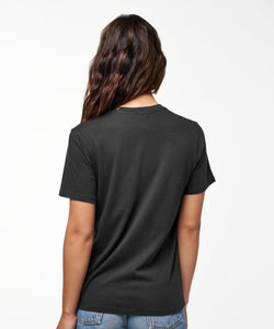 Stance T-shirts Shelter Pocket Womens Black fade