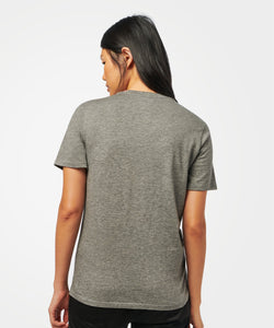 Stance T-Shirts SHELTER POCKET T-SHIRT WOMENS Dark grey