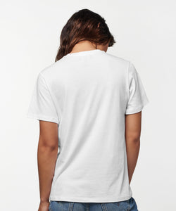Stance T-Shirts SHELTER POCKET T-SHIRT WOMENS White