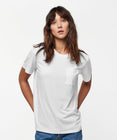 Load image into Gallery viewer, Stance T-shirt Women's Shelter Pocker White
