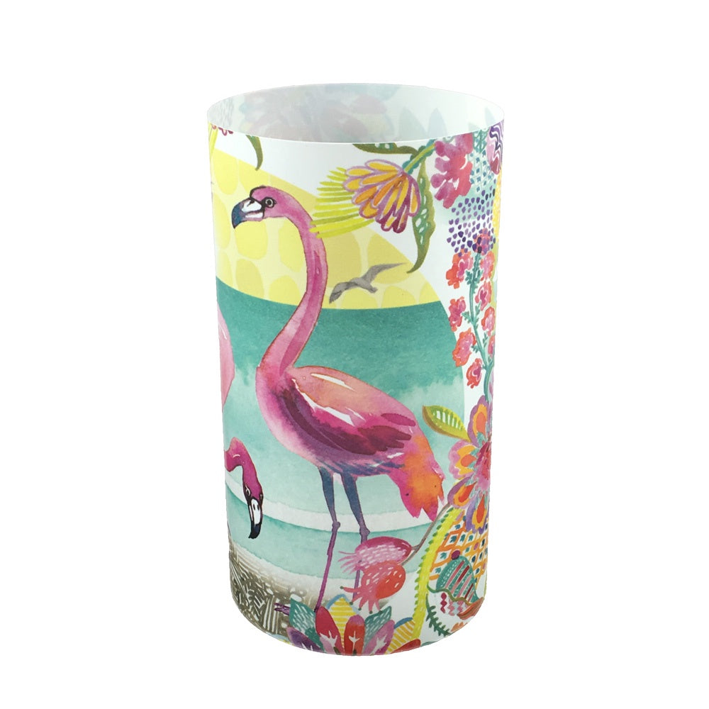 Flamingo Candle Shade - Sharon B Design