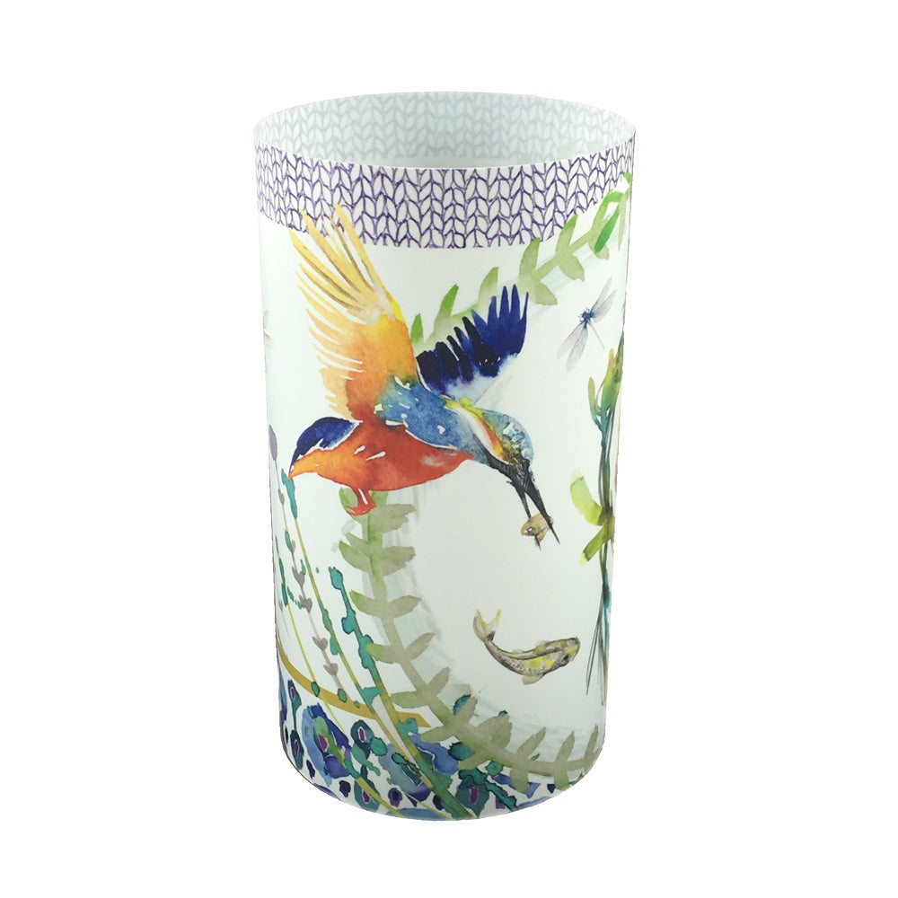 Kingfisher Candle Shade