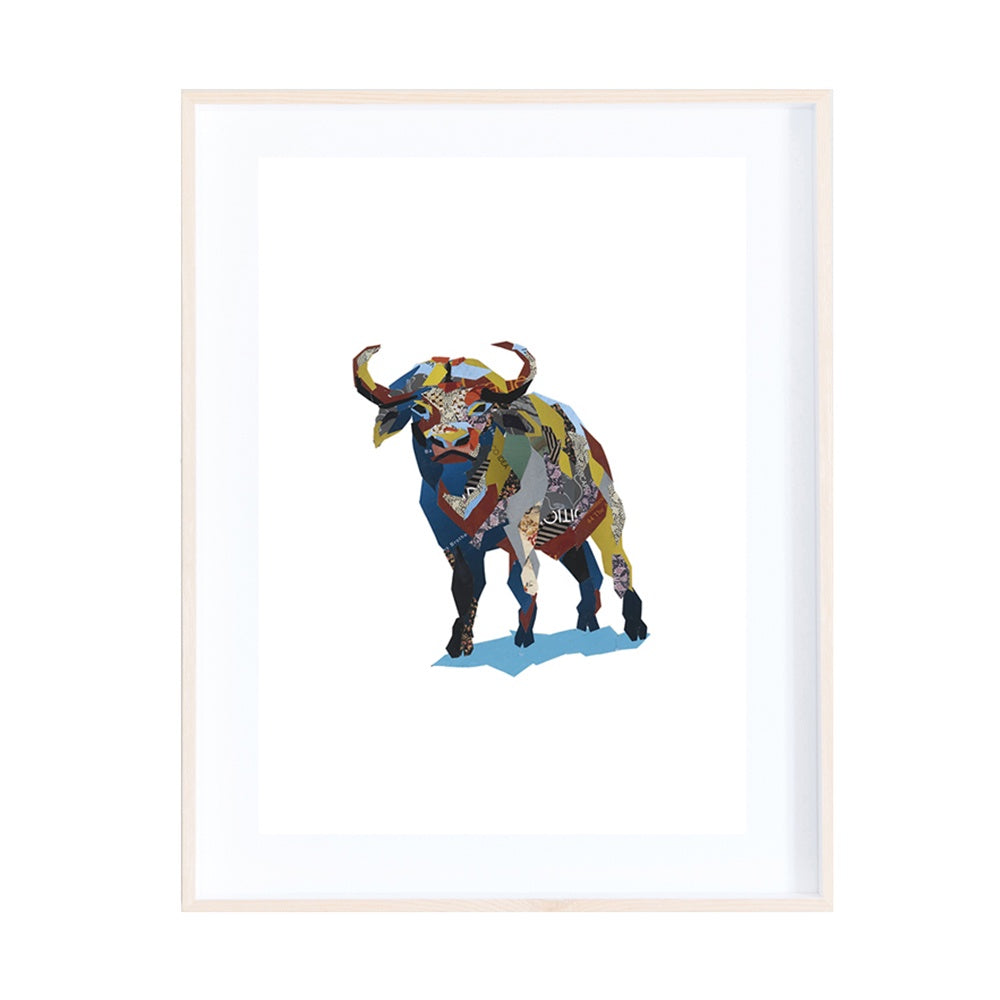 Buffalo Collage Print