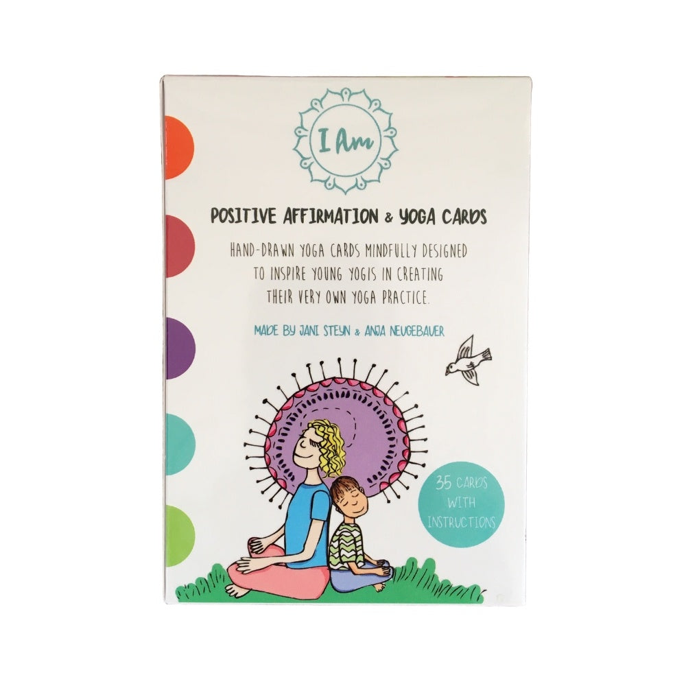 I Am - Yoga & Positive Affirmation Cards