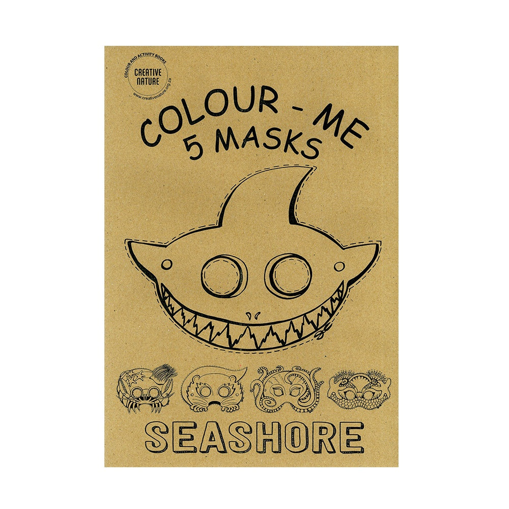 Seashore Colouring Masks