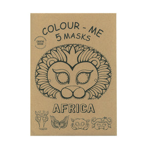 Africa Colouring Masks