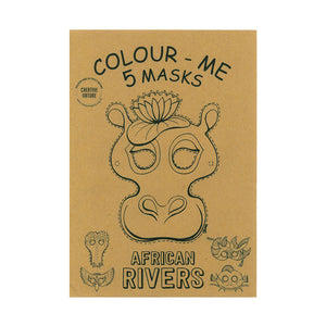 African Rivers Colouring Masks