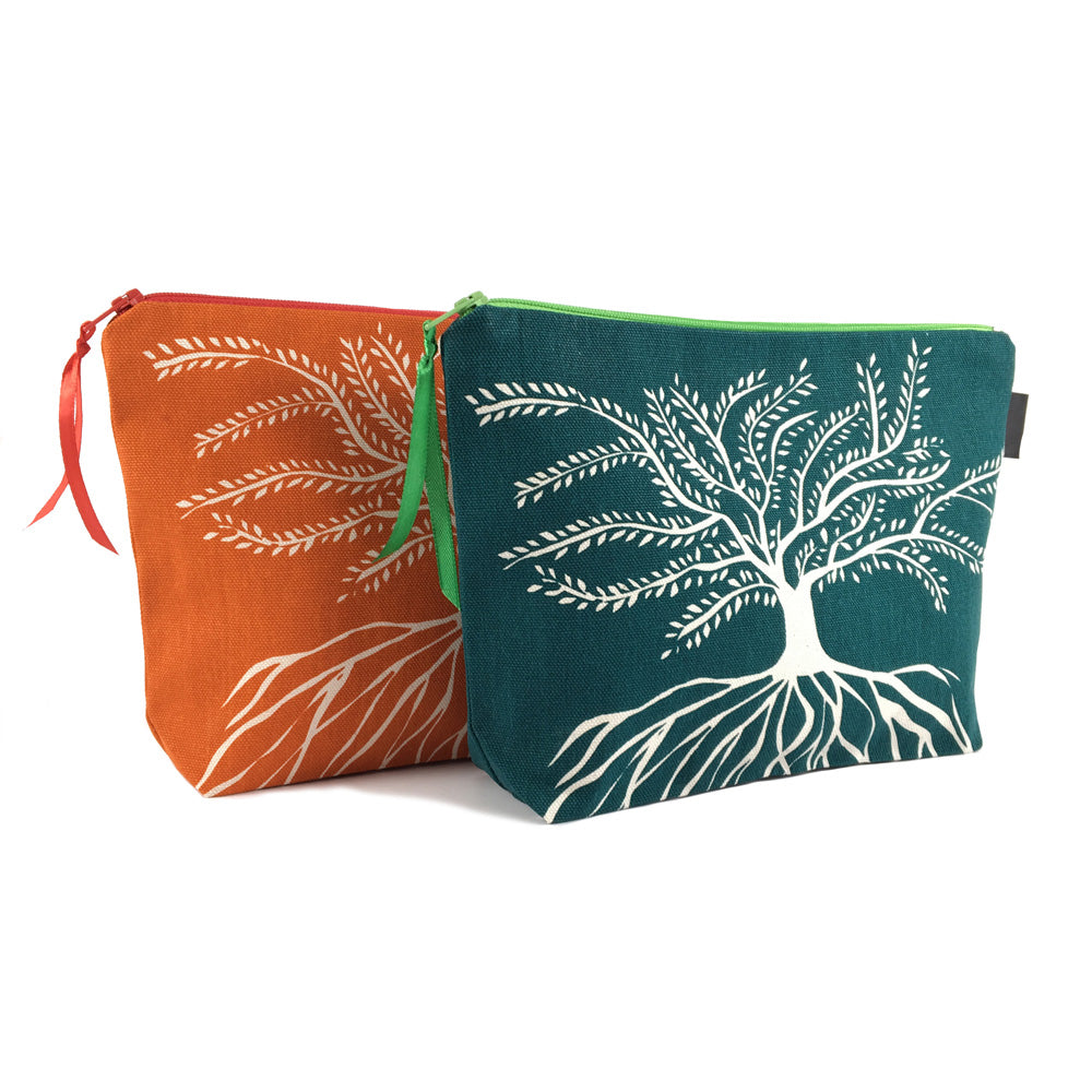 African Proverb Pouch - Roots - Yda Walt