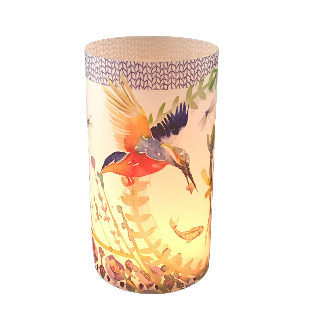Kingfisher Candle Shade - Sharon B Design