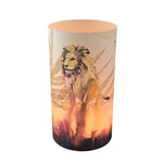 Lion Candle Shade - Sharon B Design