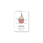 Blow Me Greeting Card