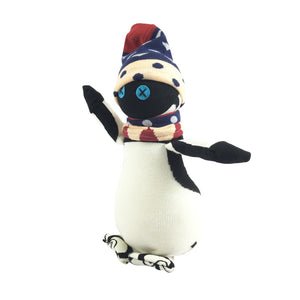 African Sock Animal Cuddle Toy - Penguin