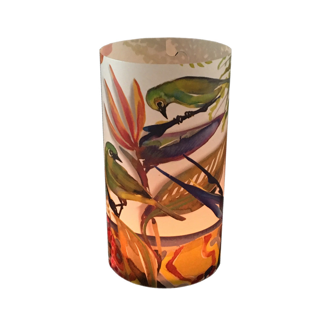 Strelitzia Candle Shade - Sharon B Design