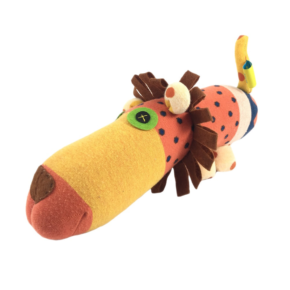 African Sock Animal Cuddle Toy
