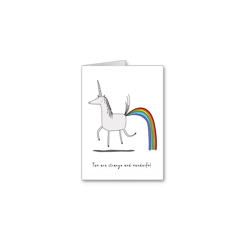 Strange & Wonderful Greeting Card