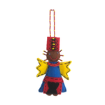 African Angel Felt Decoration