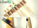Live3co Bamboo Toothbrush - Fully Personalised Option