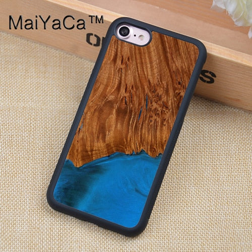 Live3co Eco-friendly Resin Wood Case