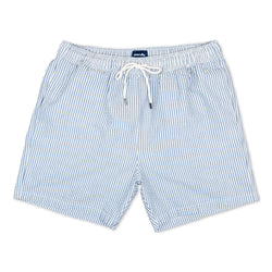 Morville Originals Swim Shorts Blue/White - Morville