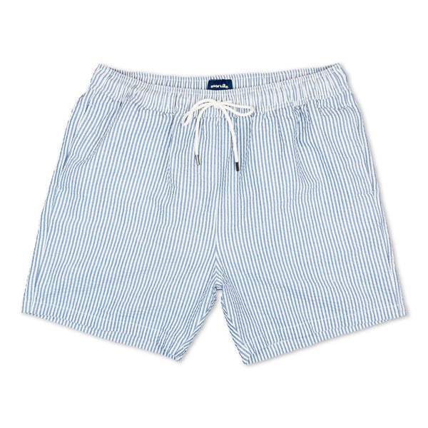 Morville Originals Swim Shorts Blue/White