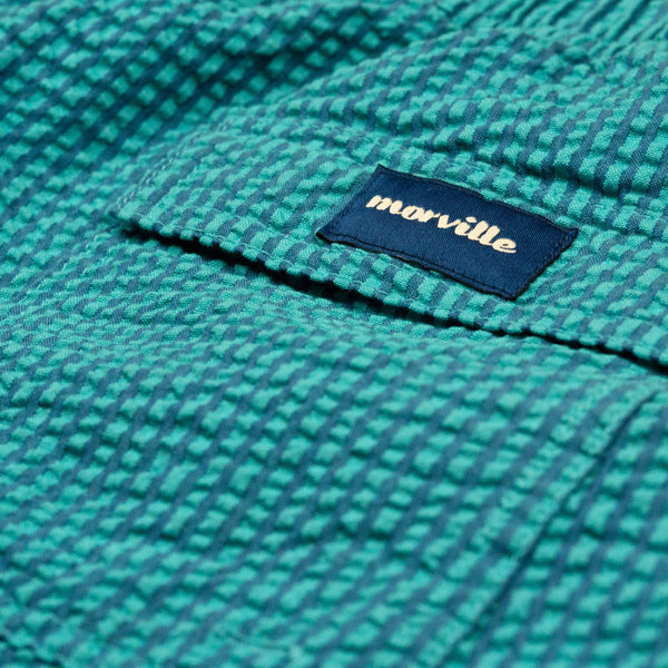 Morville Originals Swim Shorts Green/Blue