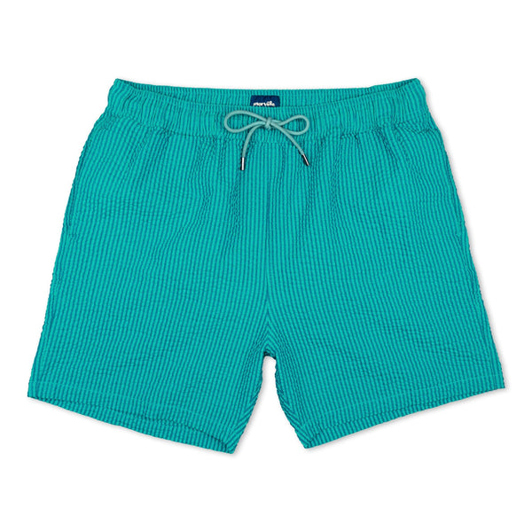 Morville Originals Swim Shorts Green/Blue - Morville