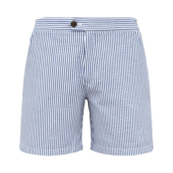 Tailored Originals Swim Shorts - Blue - Morville